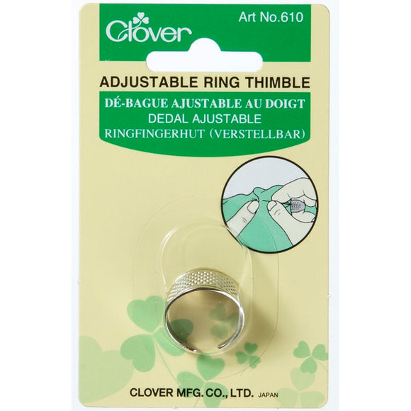 Clover C610 / C611 - Adjustable Ring Thimbles