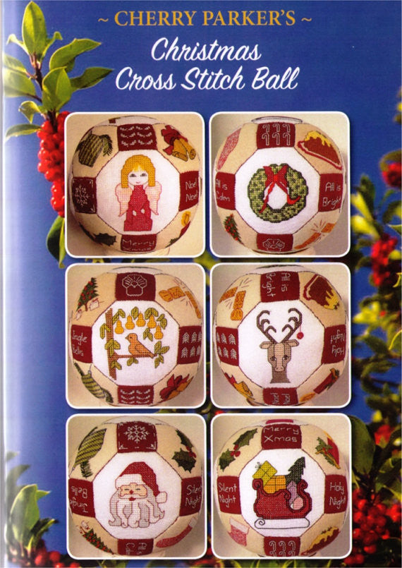 Cherry Parker's Christmas Ball Cross Stitch Book