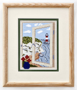 Cross Stitch Kit - Coastal View