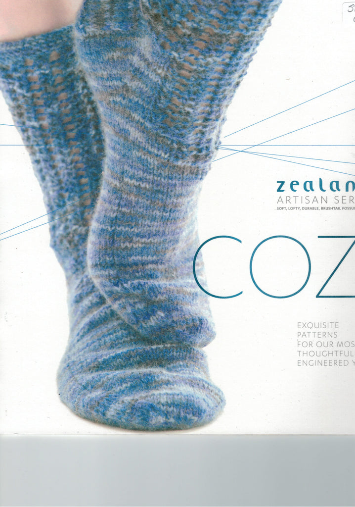 Zealana Cozi - 8 patterns in Zealana Cozi Yarn