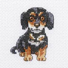 Cross Stitch Kit - Curious Sherlock