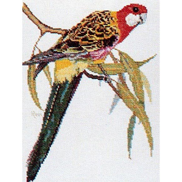 Cross-stitch chart - Ross Originals Australian Eastern Rosella