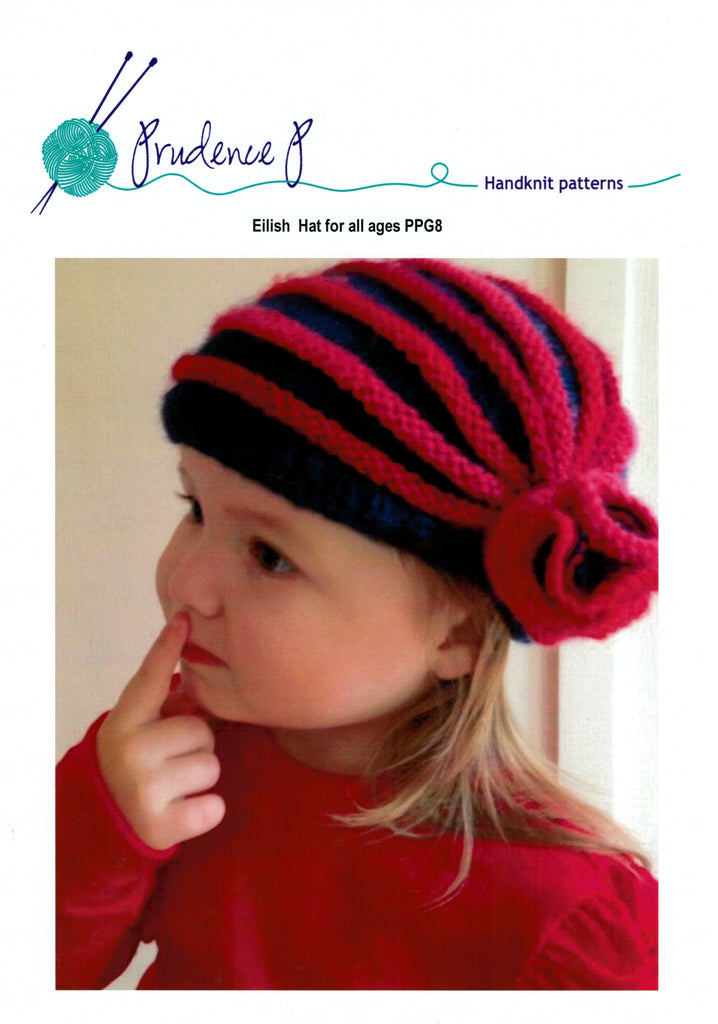 Prudence P Knitting Pattern - Eilish Hat (Toddler to Adult Sizes ...
