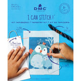DMC I Can Stitch It Kit for Children & Learners - Filou the Owl