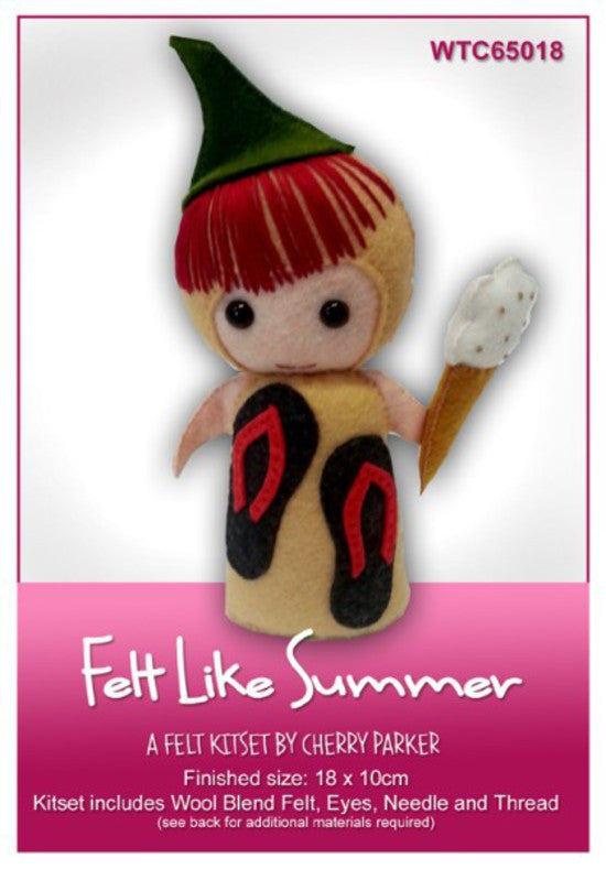 Felt Kit - Felt Like Summer Doll