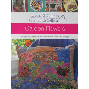 David & Charles Cross Stitch Collection - Garden Flowers
