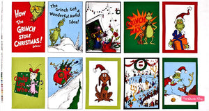 How the Grinch Stole Christmas Fabric Bundle (2.6 metres in total)