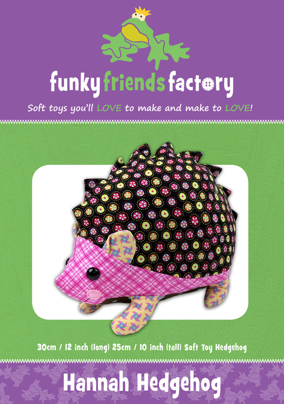 Hannah Hedgehog Sewing Pattern
