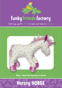 Unicorn & Horse Sewing Pattern