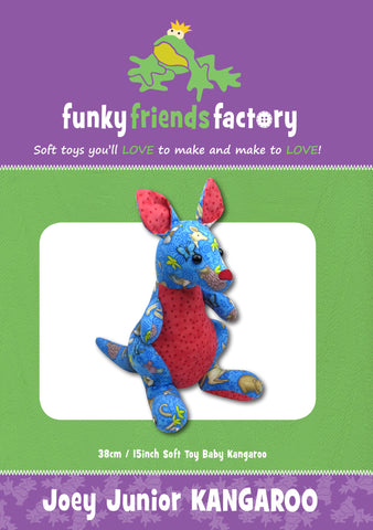 Joey Junior Kangaroo Sewing Pattern