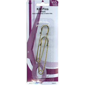 Kilt Pins - Gold-tone or Nickel-tone