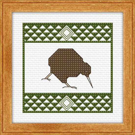 Cross-stitch kit - Kiwi