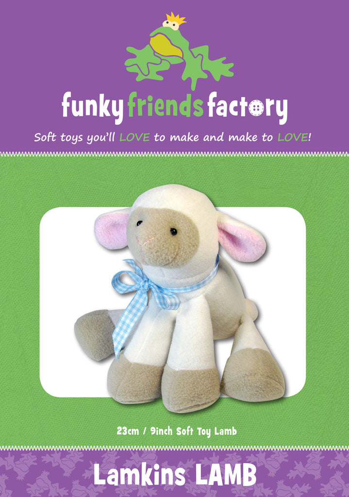 Lambkins Lamb Sewing Pattern