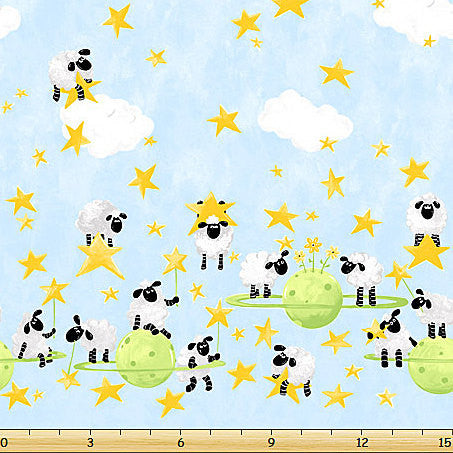 L'ewe - Sheep floating in Space