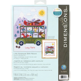 Dimensions Counted Cross Stitch Kit - Little Adventurer Birth Record