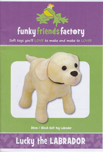 Lucky the Labrador Sewing Pattern