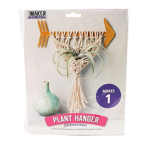 Kits for learners - Arrow Plant Hanger Macrame Kit