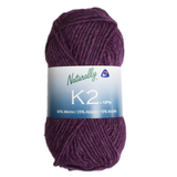 Naturally K2 - New Zealand Merino / Alpaca / Acrylic 12-ply / Aran