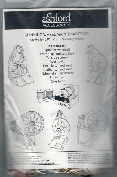 Ashford Spinning Wheel Maintenance Kit
