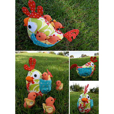 Melly & Me Patterns - Clucky the Chicken