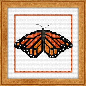 Cross-stitch kit - Monarch