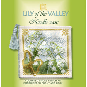 Cross-stitch Needlecase kit - Lily of the Valley