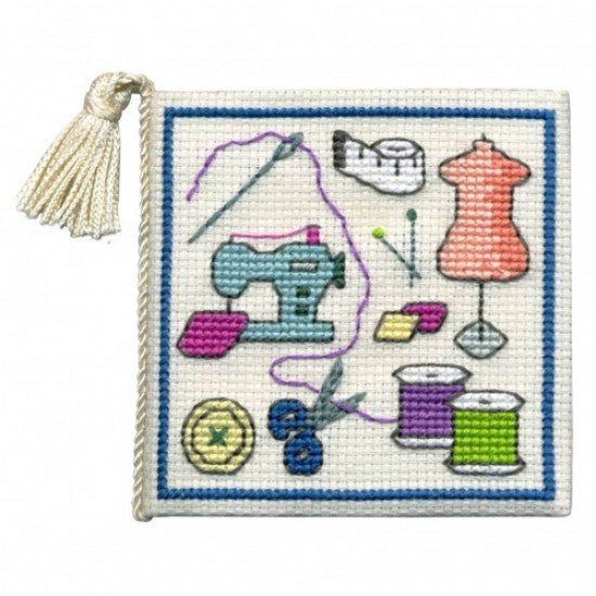 Cross-stitch Needlecase kit - Sewing Room