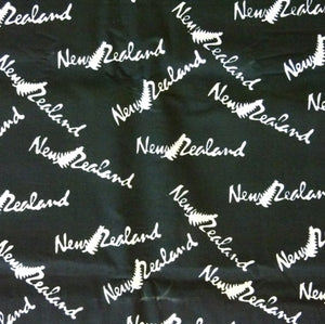 New Zealand Batik - Raven Colour