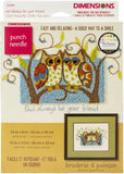 Dimensions Punch Needle Kit - Owl Always Be Your Friend