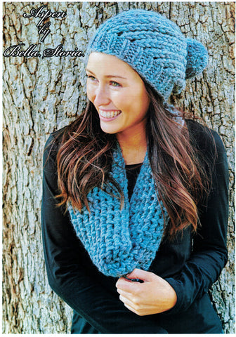 Bella Storia Aspen - Ladies hat and cowl in Chunky