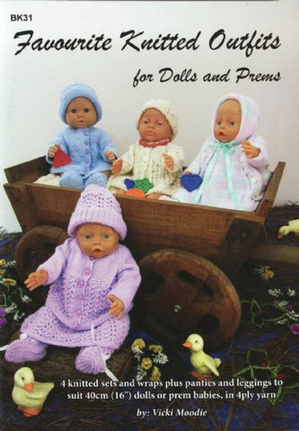 Favorite Knitted Outfits for Dolls and Prems