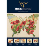 Cross Stitch Kit - Anchor Maia Collection - Butterfly Silhouette