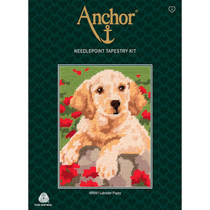 Anchor Beginners Tapestry Kit - Labrador Puppy