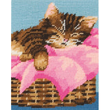 Anchor Beginners Tapestry Kit - Sleeping Kitten