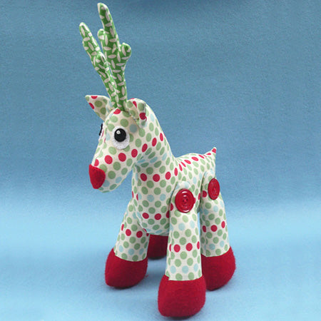 Melly & Me Patterns - Rudy the Reindeeer