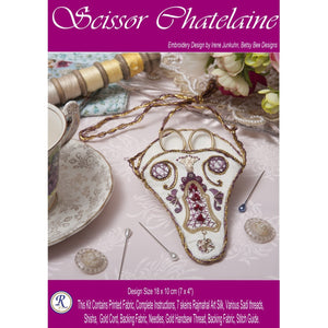 Scissors Chatelaine - Embroidery Kit