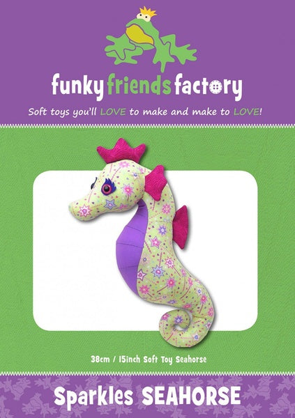 Sparkles Seahorse Sewing Pattern