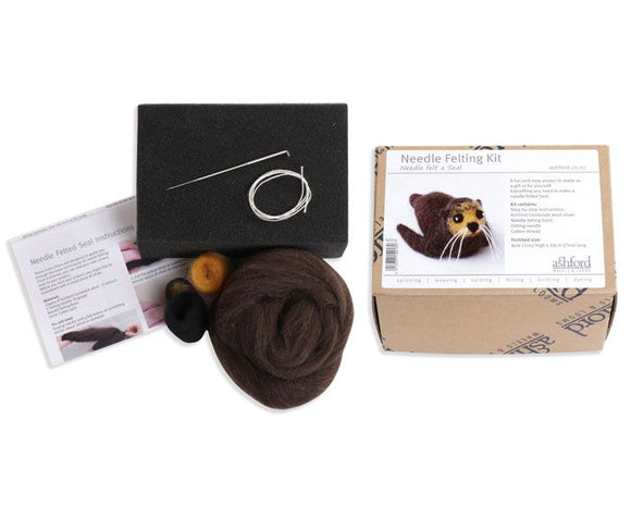 Needle Felting Kit - Make Your Own NZ Native Seal!