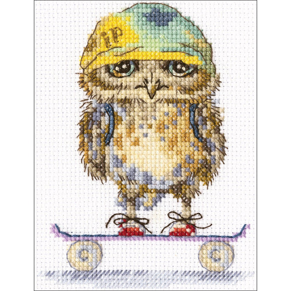 Cross Stitch Kit - Skater