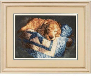 Dimensions Stamped Cross Stitch Kit - Snooze