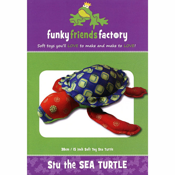 Stu the Sea Turtle Sewing Pattern