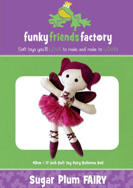 Sugar Plum Fairy Sewing Pattern