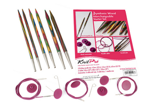 Knitpro - Symfonie Starter Set - Set of 3 Interchangable Knitting Needle Tips