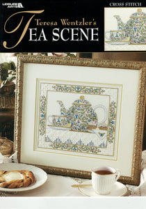 Cross-stitch chart - Teresa Wentzler's Tea Scene