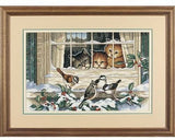 Dimensions Counted Cross Stitch Kit - Three Bird Watchers