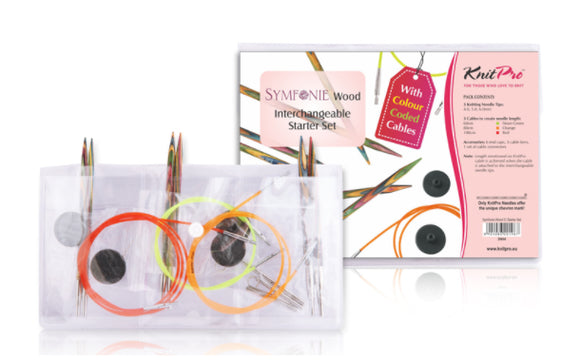 Knitpro - Trendz Interchangeable Knitting Needles - Starter Set