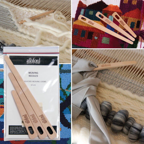 Ashford - Weaving Needles - set of three