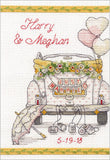 Dimensions Mini Counted Cross Stitch Kit - Wedding Day