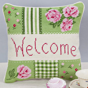 Tapestry Cushion Kit - Welcome Cushion