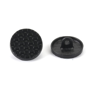 Zinc Alloy Buttons - three colours, 15 mm across
